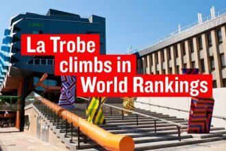 Đại học La Trobe Úc vươn lên TOP 1% các trường đại học toàn cầu